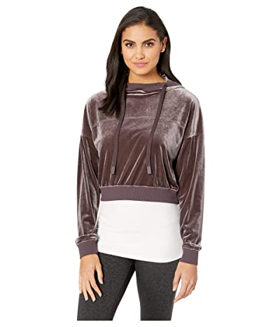 ALO Layer Long Sleeve Top (Raisin) Women