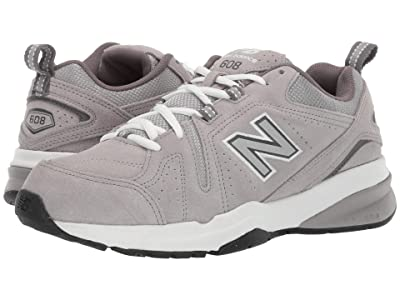 New Balance 608v5 (Grey Suede/Grey Suede) Men