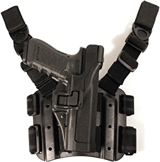BlackHawk. Serpa Nivel 3 Tactical Negro Holster