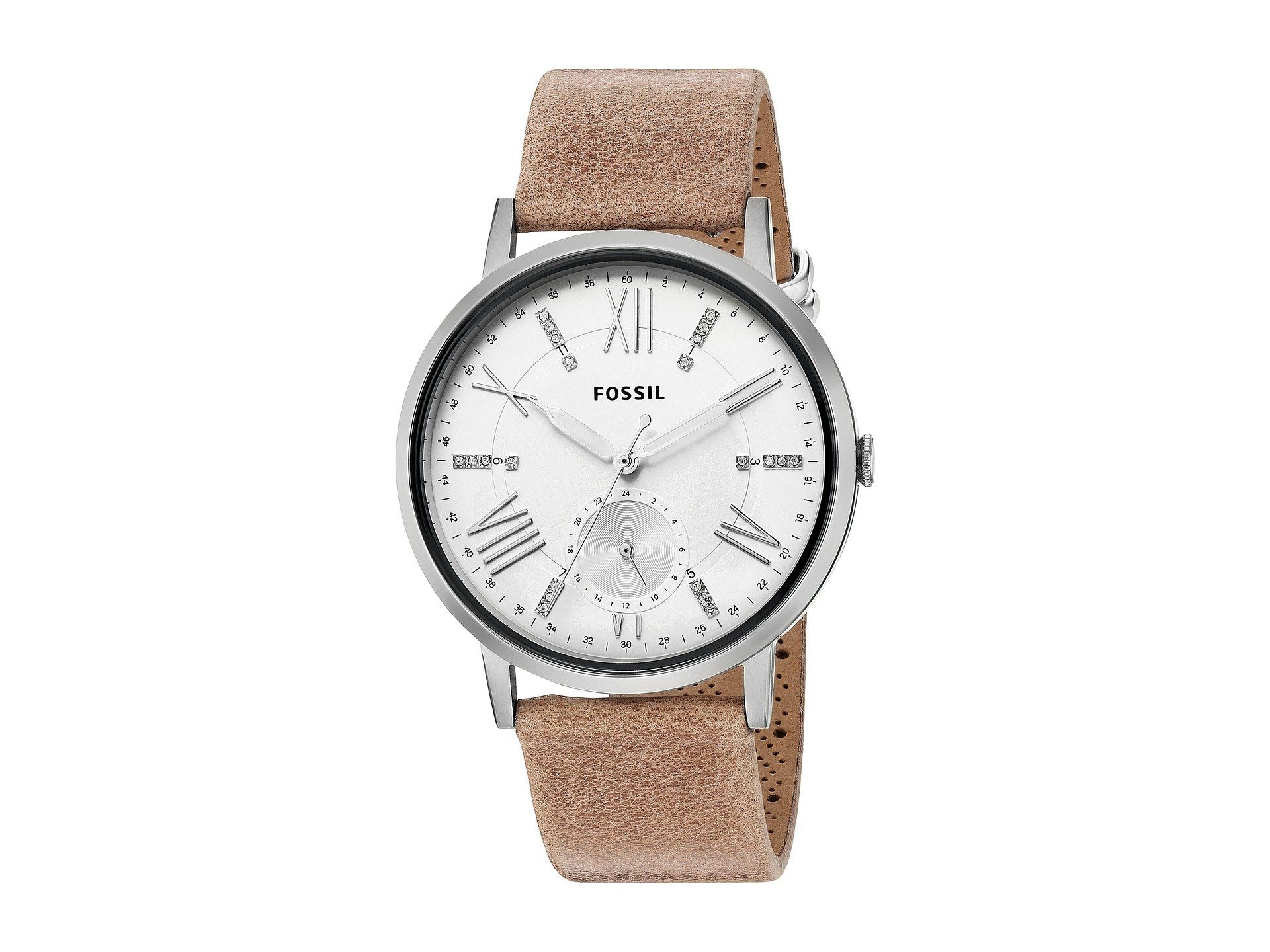 Reloj para Mujer Fossil Gazer Leather - ES4162  + Fossil en VeoyCompro.net