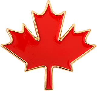 Canada Canadian Country Red Maple Leaf Lapel Pin Enamel Made of Metal Souvenir