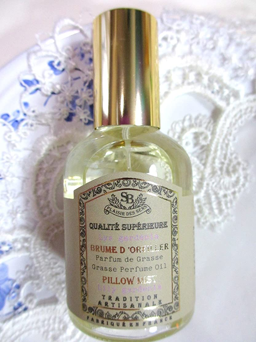 銛行き当たりばったり逆Senteur et Beaute(サンタールエボーテ) French classic(フレンチクラシックシリーズ) ピローミスト 50ml 「リリーガーデニア」 4994228024367