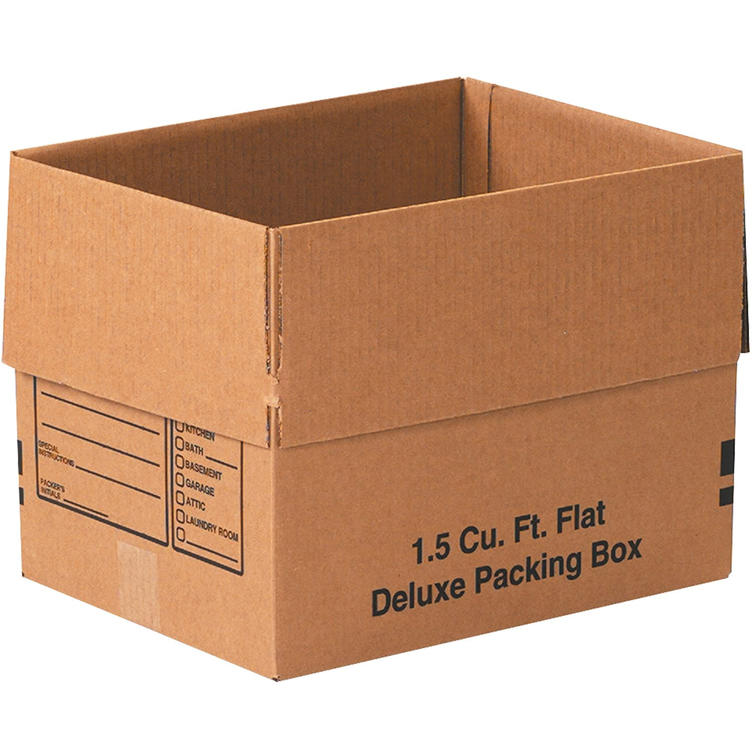 Kraft Pack of 10 Partners Brand P241612 Corrugated Boxes 24L x 16W x 12H