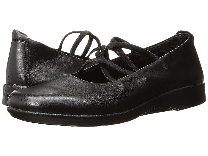 Arcopedico  Vegas (Black) Womens Flat Shoes