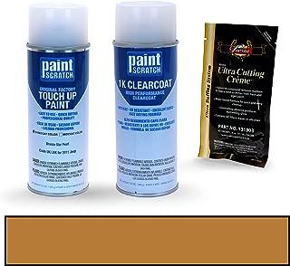 PAINTSCRATCH Bronze Star Pearl UK/JUK for 2011 Jeep Patriot - Touch Up Paint Spray Can Kit - Original Factory OEM Automotive Paint - Color Match Guaranteed