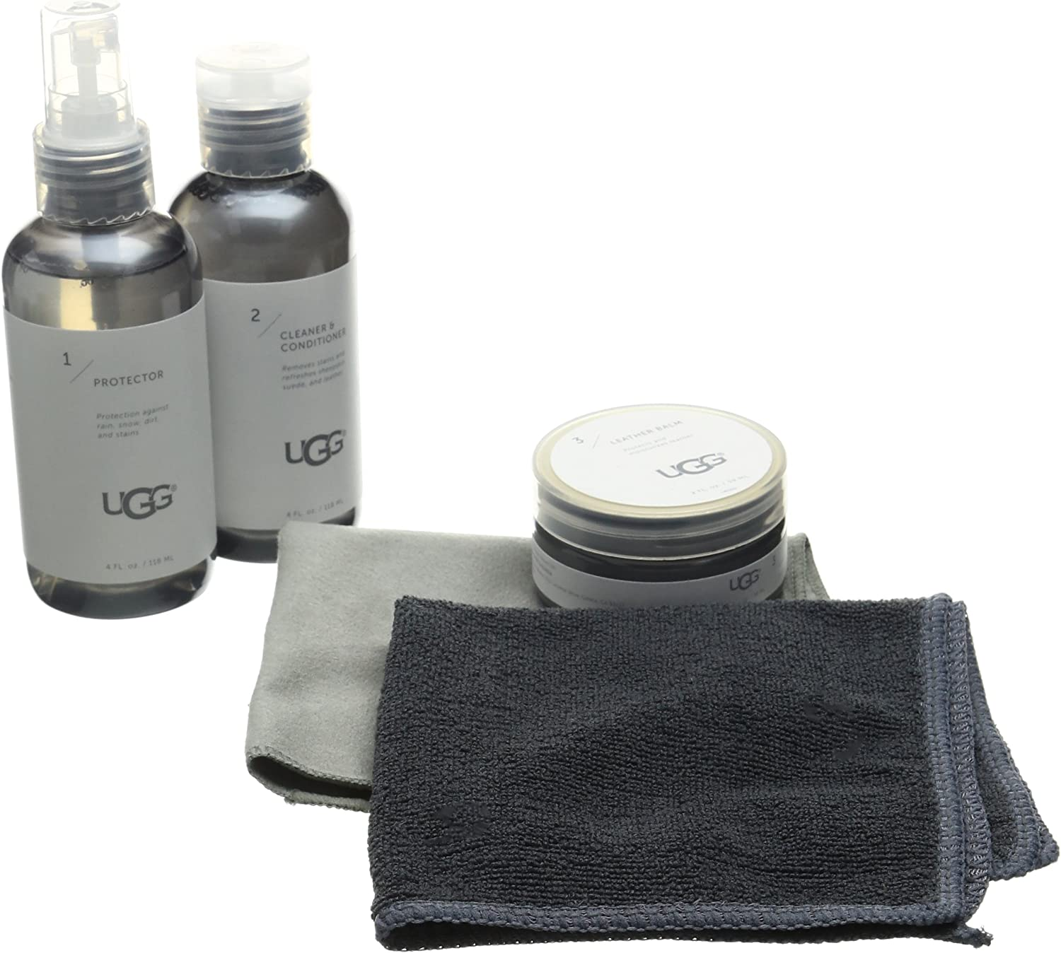 UGG Leather Shoe Care Kit, Natural, One Size fits All Medium US: Shoes