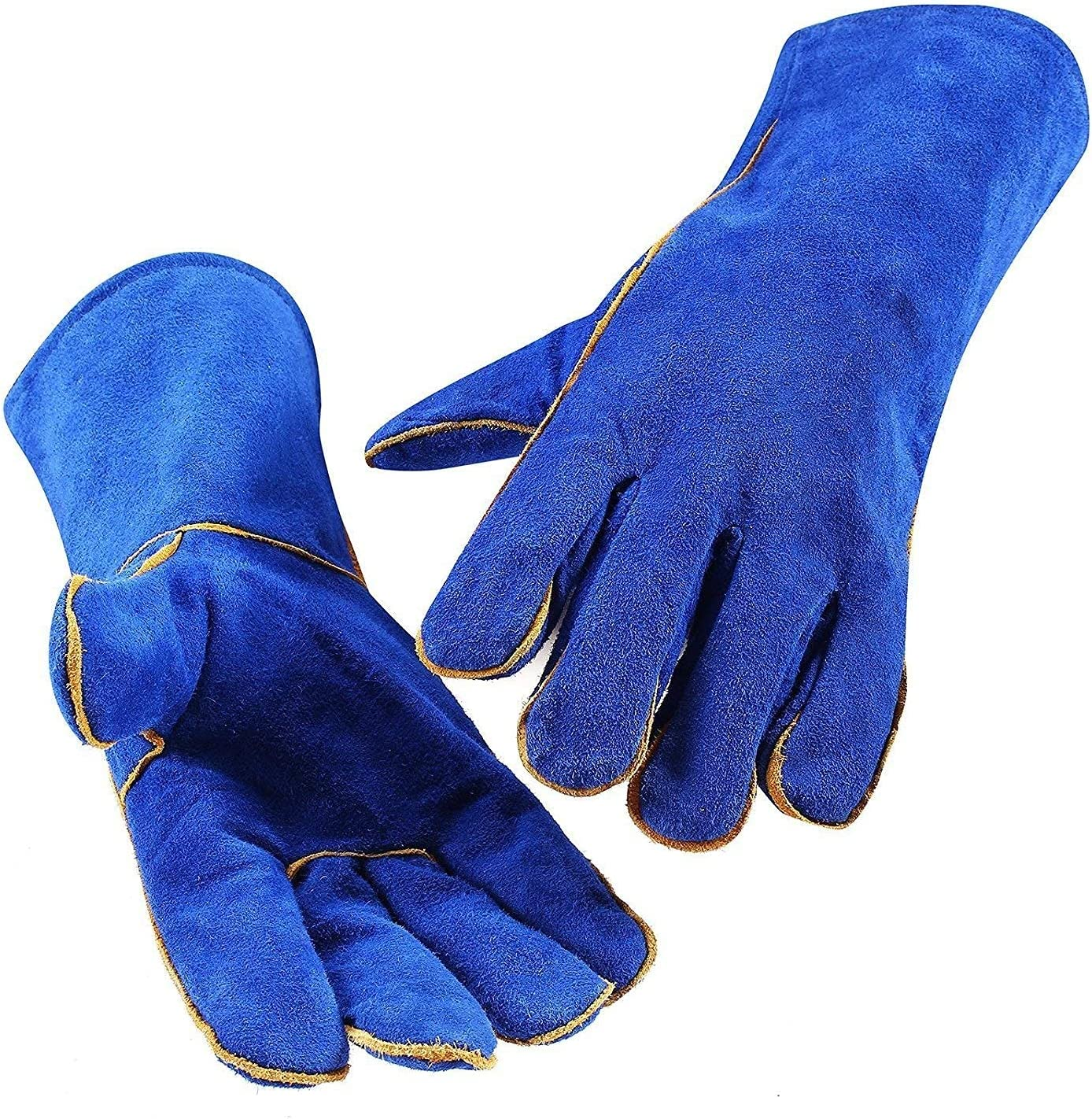 Classic Leather Forge Welding Cheap bargain Great interest Fire Safe Durable Gloves Non-Slip