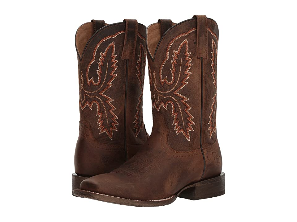 Ariat Circuit Dayworker (Weathered Brown) Cowboy Boots