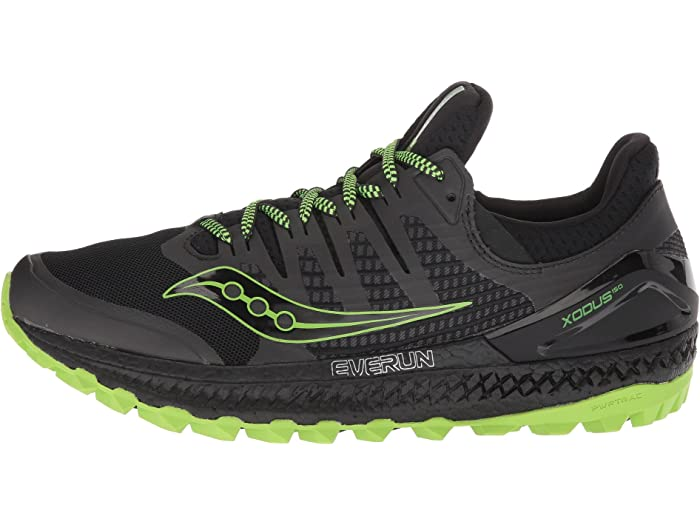 Saucony Xodus Iso 3 Grey//Black Trail Running Shoes outdoor Hill Running S20449-3