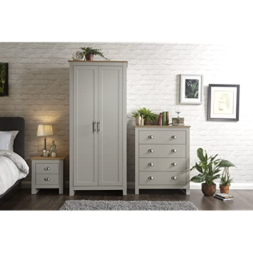 Astounding Grey Oak Bedroom Furniture Amazon Co Uk Home Interior And Landscaping Ponolsignezvosmurscom
