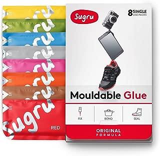 Sugru Moldable Glue - Original Formula - New Colors 8-Pack