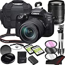 Canon EOS 90D DSLR Camera Bundle with 18-135mm USM Lens | Built-in Wi-Fi|32.5 MP CMOS Sensor | |DIGIC 8 Image Processor an...