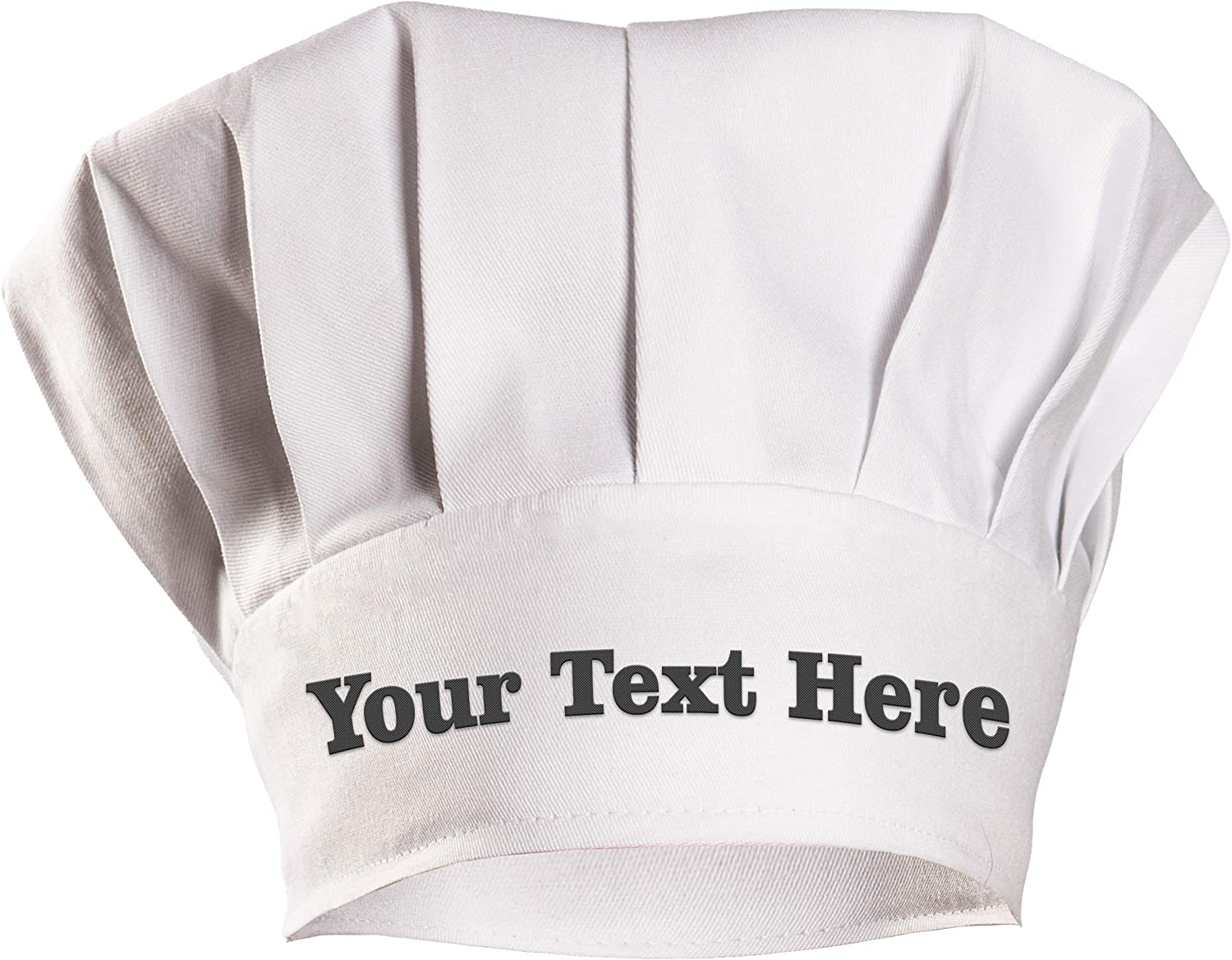 Custom Personalized and Directly managed Direct store store Embroidered Adult Adju Chef Cap with Hat