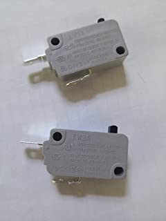 2pcs KW3A 16A 125V/250V Microwave Oven Door Micro Switch Normally Close