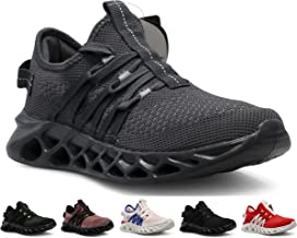 CROSSMONT Blade Wave Mens Slip on Walking Shoes Sports Athletic Fashion Sneakers