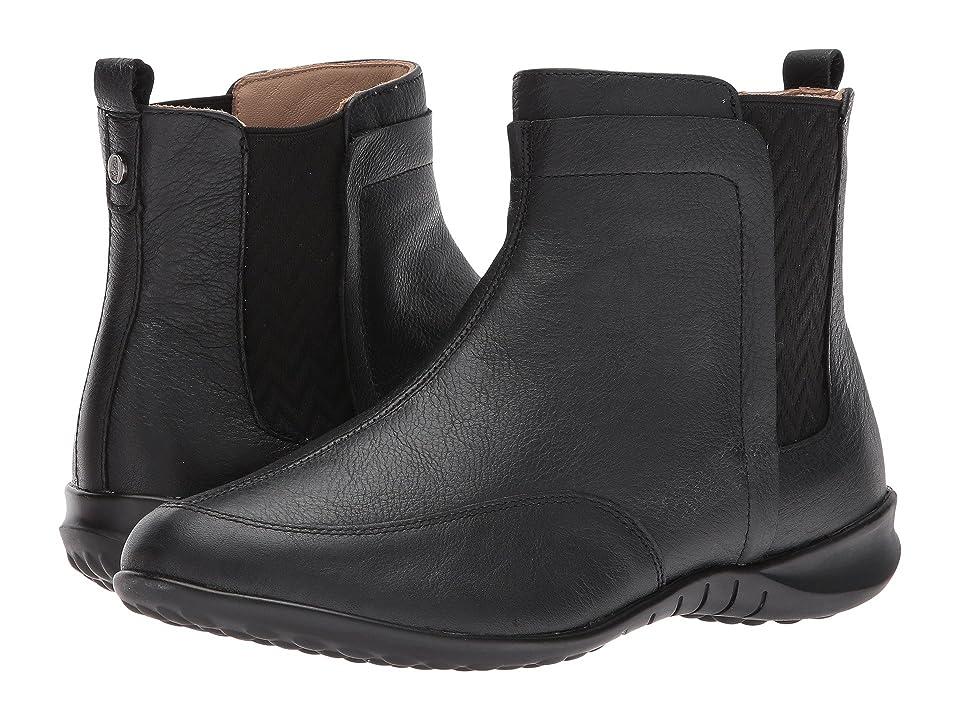 Hush Puppies Lindsi Bria (Black Waterproof Leather) Women