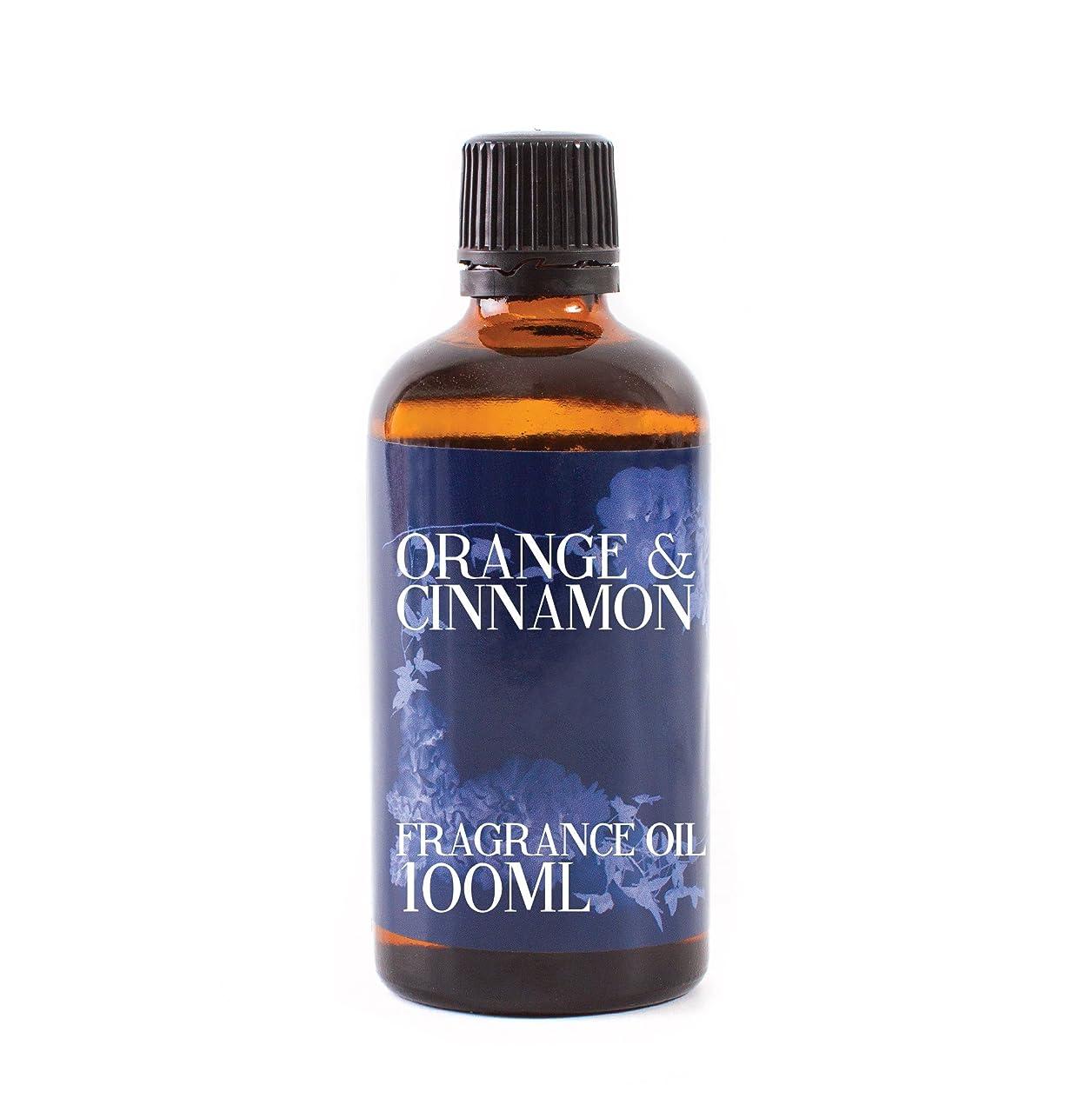 具体的に聴覚時制Mystic Moments | Orange & Cinnamon Fragrance Oil - 100ml