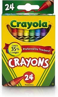 Crayola 52-3024 Original Crayons 24 Count