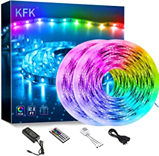 Kfk Led Strip Lights 32.8ft