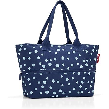 reisenthel shopper e1 spots navy Maße: 50 x 26,5 x 16,5 cm / Maße: 50 x 35 x 16,5 cm expanded