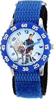 Disney Boys' Kristoff & Sven Blue Time Teacher Watch