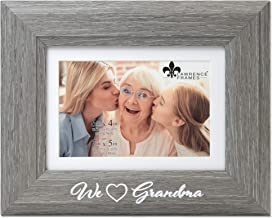 Lawrence Frames Grandma Picture Frame, 4x6, Gray