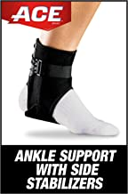 Best ACE-207266 Brand Ankle Brace with Side Stabilizers-Black 1 Count (Pack of 1) Review