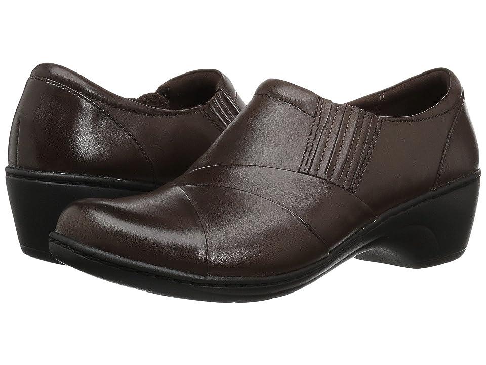 Clarks Channing Essa (Brown Leather) Women