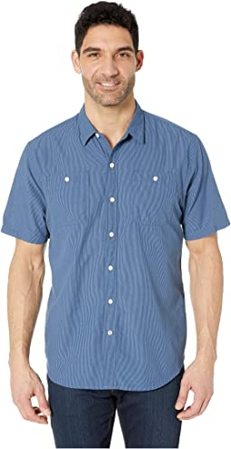 Short Sleeve Seersucker Shirt