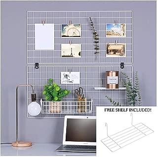 Best white grid shelf Reviews