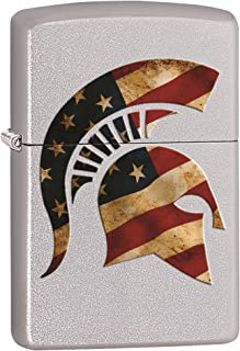 American Flag Spartan Custom Zippo Windproof Collectible Lighter. Made in USA Limited Edition & Rare