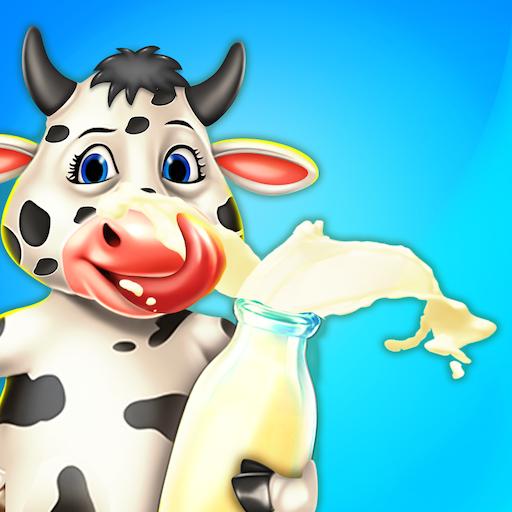 Dairy Farming: A Milking Game - Sheep - Goat - Cow - Yak - Jersey Cow - Buffalo - Camel - Holstein Friesian Cattle Milking Game