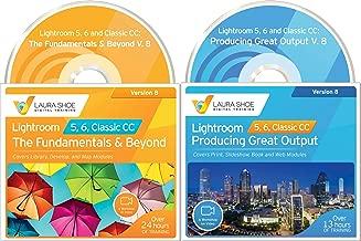 Adobe Lightroom 5, 6 and Classic CC: The Fundamentals & Beyond V. 8 (2019) AND Producing Great Output V. 8 (2019) - Workshops on Video Ultimate Bundled Set