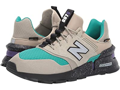 New Balance Classics 997 Sport (Stoneware/Verdite Suede/Nylon) Men