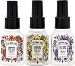 Poo-Pourri Original Citrus,Lavender Vanilla, and Tropical Hibiscus 1.4 Ounce Set