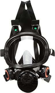 3M Safety 7800S-L 7800S Series Silicone Full Facepiece Respiratory Protection, Large