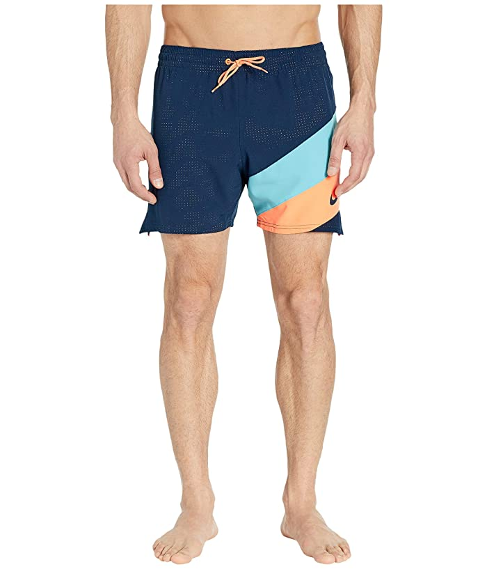 Nike 5 Optic Camo Mesh Signal Volley Shorts (Obsidian) Men
