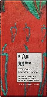 Vivani - Edel Bitter Chili Chocolate Bar - 100g