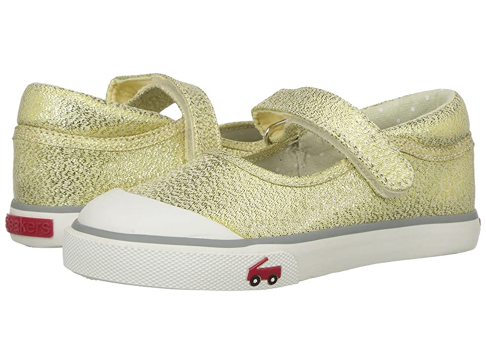See Kai Run Kids Marie (Toddler/Little Kid) (Gold Glitter 1) Girl