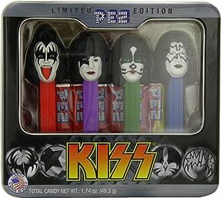 PEZ Gift Tin, Kiss, 1.74 Ounce
