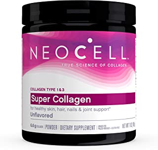 NeoCell Super Collagen Powder – 6,600mg Collagen Types 1 & 3 - unflavored - 7 Ounces (Packaging May Vary)