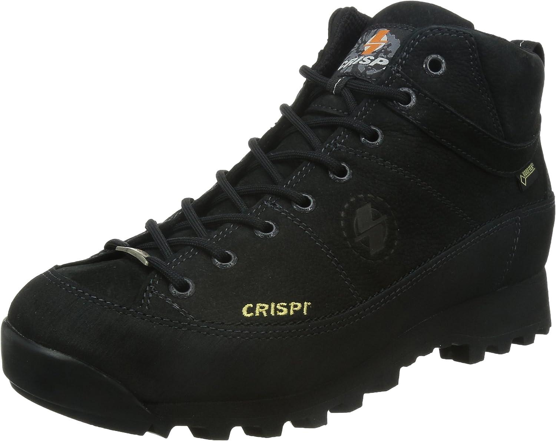 CRISPI, Herren Trekking- & Wanderstiefel schwarz schwarz
