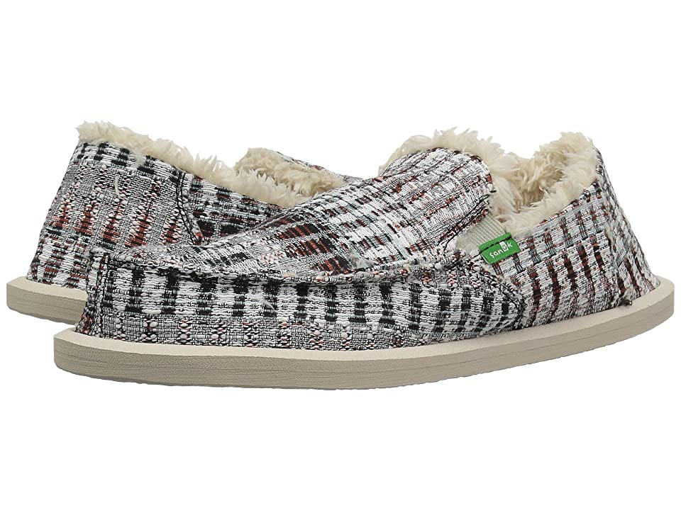 Sanuk Kids Lil Donna Ice Chill (Little Kid/Big Kid) (White Multi Icicle) Girl