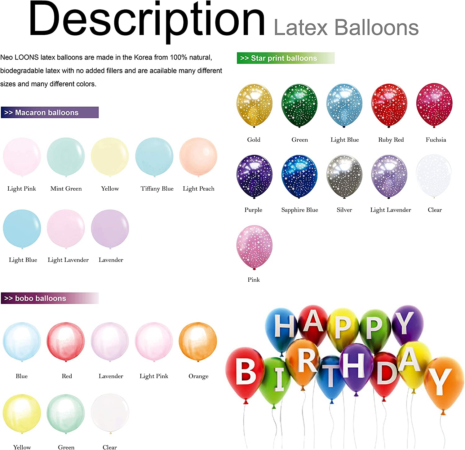Christmas,Birthday Party and Event Decoration Baby Shower 36 inch Gold Giant Balloons Neo LOONS 4 Pcs Gold Big Balloons Jumbo Round Balloons for Wedding