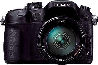 パナソニック ミラーレス一眼カメラ ルミックス GH4 レンズキット 標準ズームレンズ付属 ブラック DMC-GH4H-K