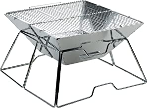 AceCamp Holzkohlegrill tragbarer Klappgrill Faltgrill Camping-Grill Garten Party BBQ..