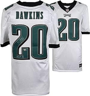 Brian Dawkins Philadelphia Eagles Autographed White Nike Elite Jersey with
