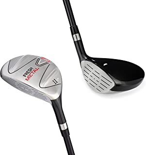 Left Handed Golf Club Founders Club Fresh Metal Fairway Wood with Headcover and Graphite Shafts
