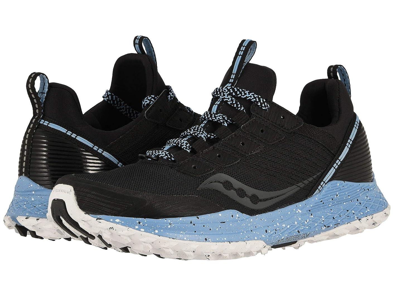 [サッカニー] レディースランニングシューズ?スニーカー?靴 Mad River TR Black 6.5 (23cm) B [並行輸入品]