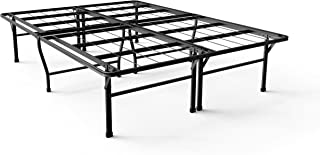 Zinus Gene 16 Inch SmartBase Deluxe Mattress Foundation / 2 Extra Inches high for Under-bed Storage / Platform Bed Frame / Box Spring Replacement / Strong / Sturdy / Quiet Noise-Free, Full (Renewed)